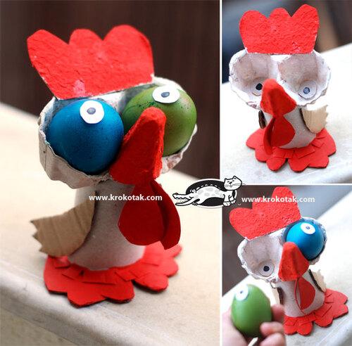 Un drôle d'oiseau pour Pâques