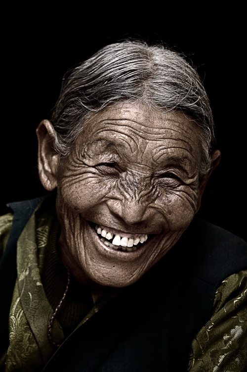 A beautiful Tibetan Smile