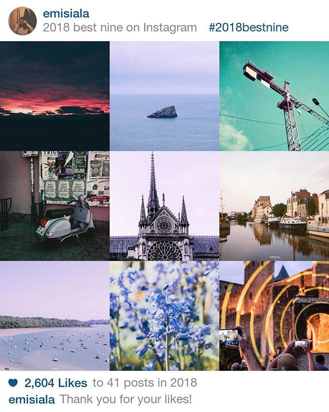 Vos 9 photos préférés de 2018