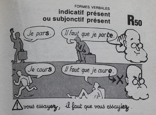 A / Indicatif ou subjonctif ?