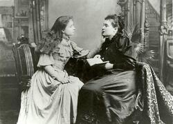 L'Histoire d'Helen Keller.