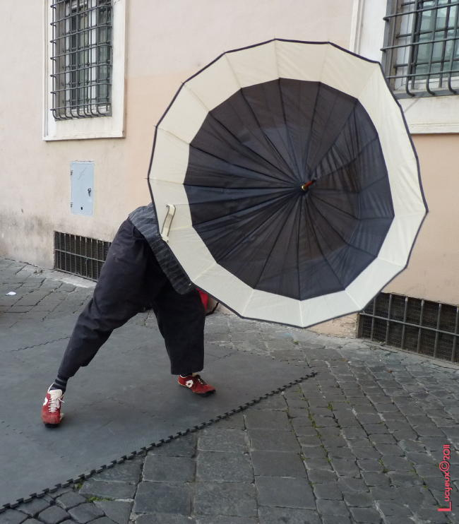 La rue à Rome