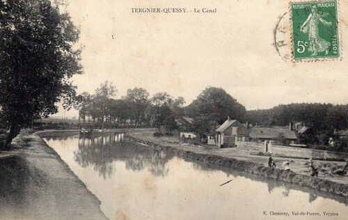 Quessy (Tergnier) - Le Canal