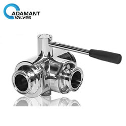 Internal thread ball valve