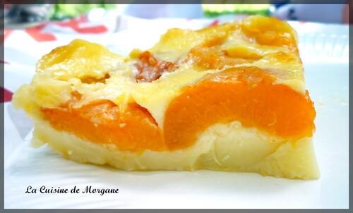 Clafoutis abricots et fleur d'oranger