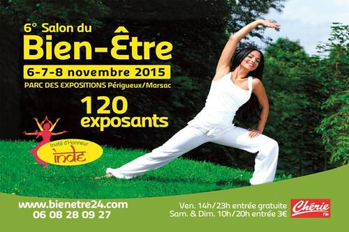 06  07  08  Novembre Salon de Bien Etre  à  PERIGUEUX /MARSAC  24