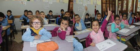"""Résultat de recherche d'images pour """"une classe de petits élèves - algerie"""""""