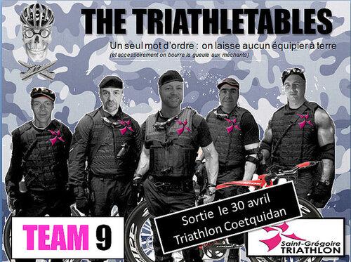 Triathlon S Coetquidan 2017