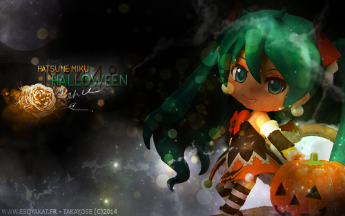 [Création] Hatsune Miku Halloween Version