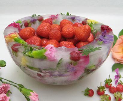 Manger des fleurs !