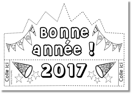La couronne du Nouvel An 2017