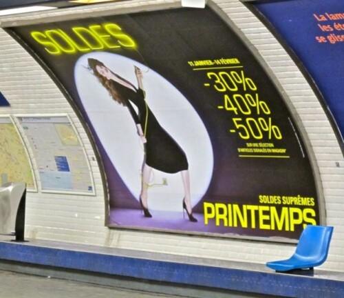 soldes affiche Printemps 7