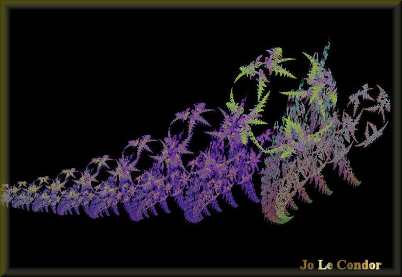 Voyage lointain........en fractales