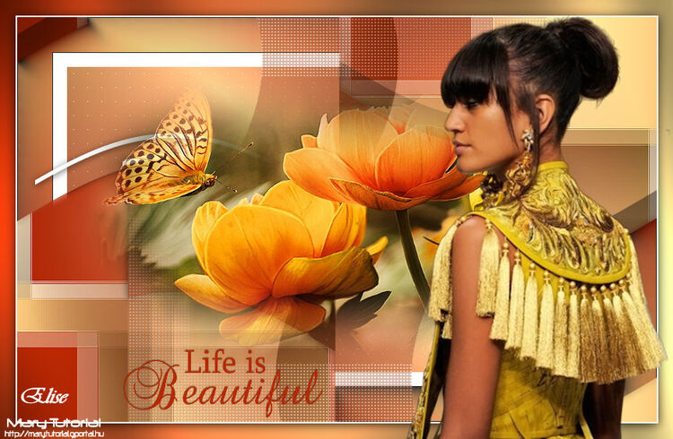 Life is beautiful de Mary tutorials
