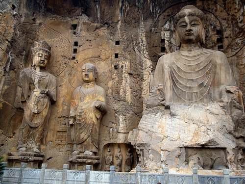 Patrimoine mondial de l'Unesco : Les grottes de Longmen - Chine -