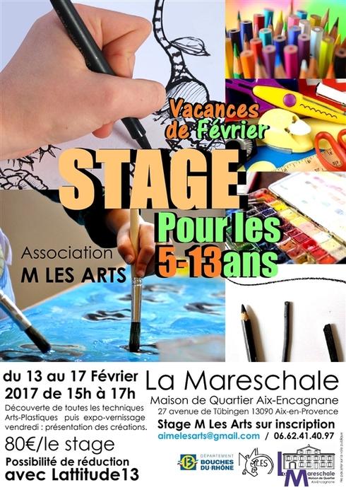 LES STAGES à venir à La Mareschale !