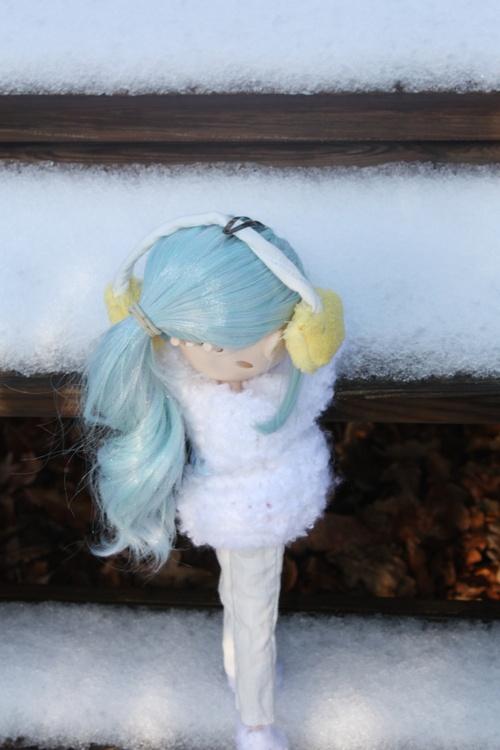 seance photo dans la neige