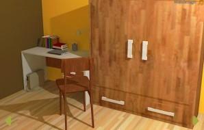 Stressful dorm room escape