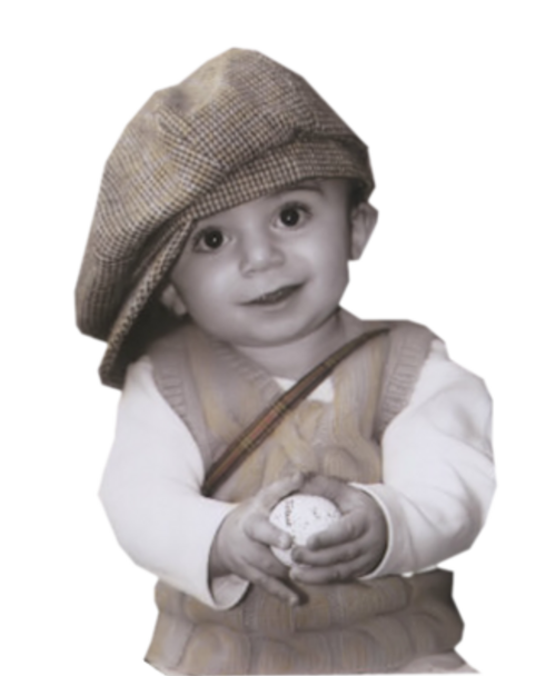 Le sourire L'enfant de l'enfant