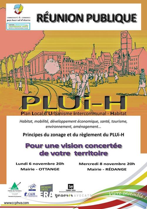 PLUi-H - Attention, dangers en perspective sur le Rancy et le Katzenberg !!!