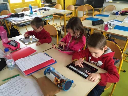 APC TICE pour les élèves de maternelle