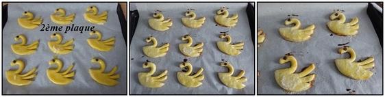Cygnes en biscuits vanillés