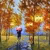 Automne sous la pluie