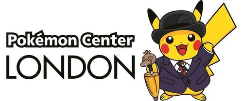 Pokemon Center London logo pikachu swag anglais