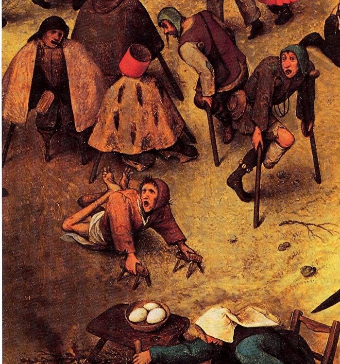 1.Bruegel l'ancien/ le combat de carnaval