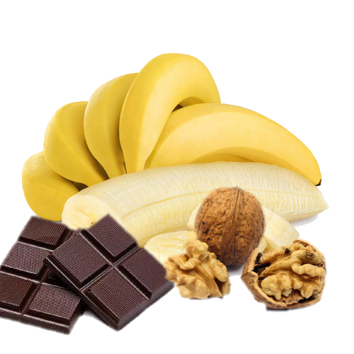 Muffins Banane,noix et chocolat