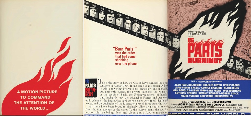 IS PARIS BURNING? box office usa 1966