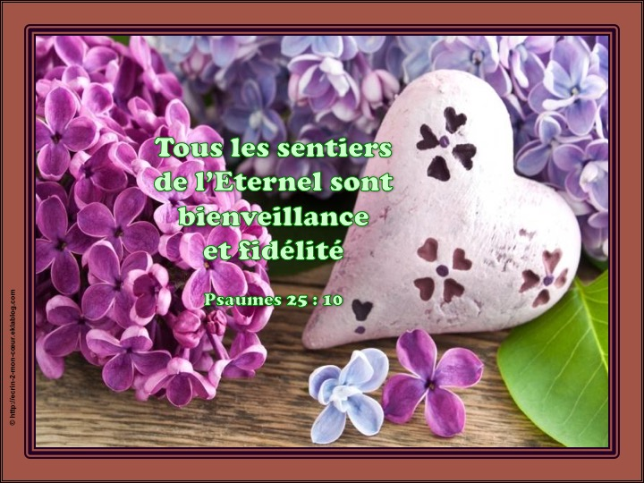 Ronde Versets du coeur 61