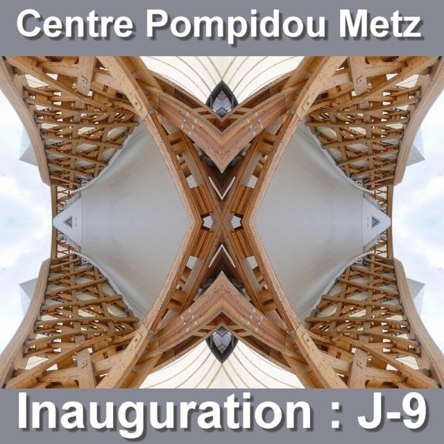 Inauguration du Centre Pompidou Metz mai 2 02 05 2010