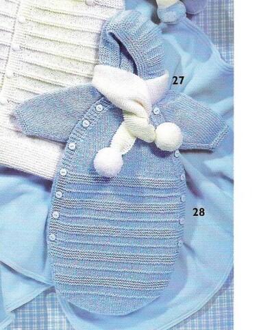 Nid d'ange pour tricoteuses débutantes
