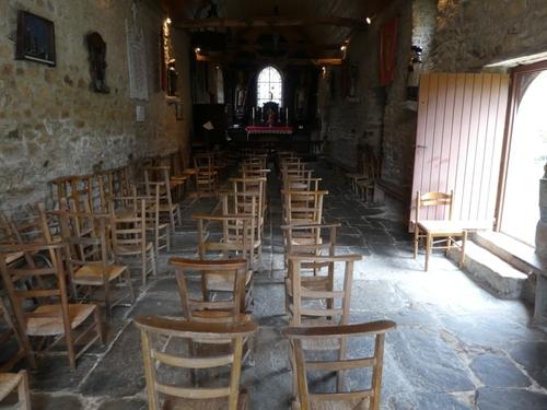 La chapelle face au Covid 19