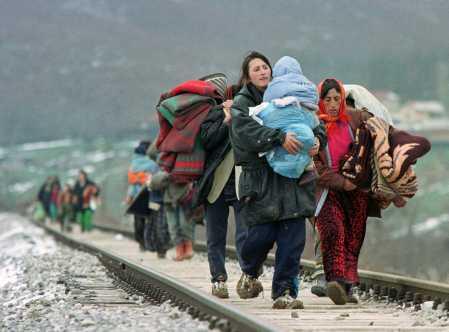 Rapport du HCR : 45,2 millions de déplacés, un record
