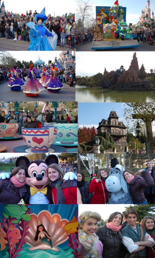 Journée à Disneyland Paris