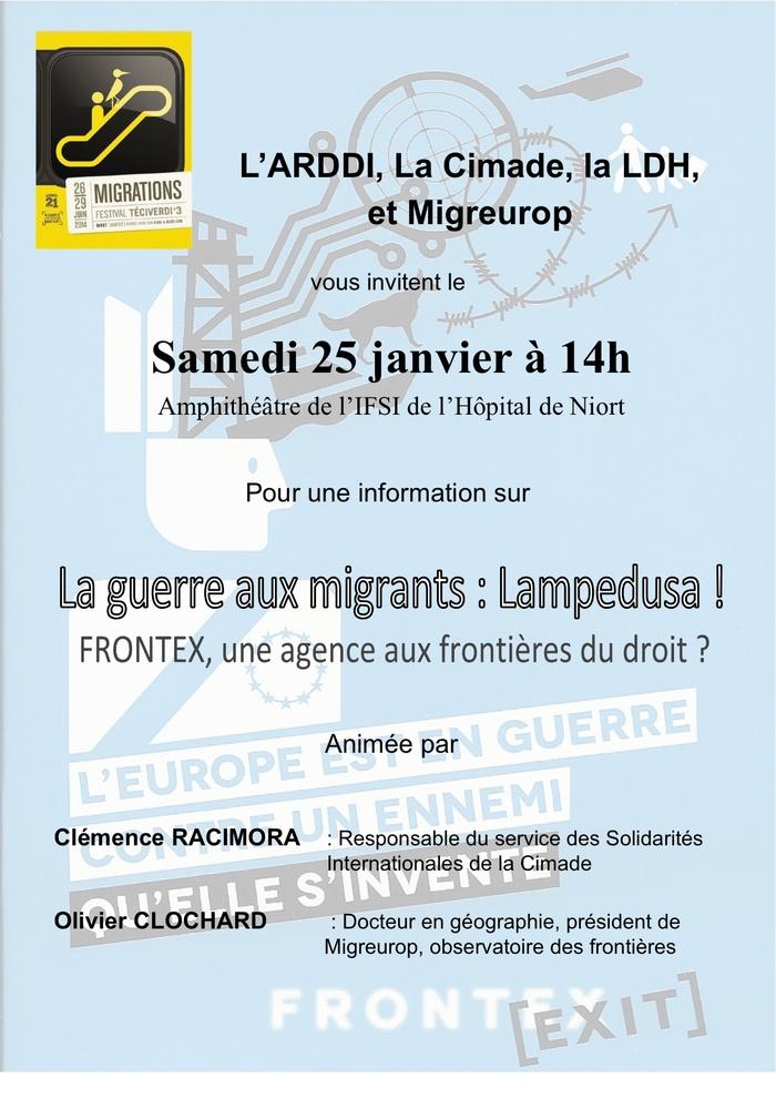 .....Migrations.....Lampedusa....
