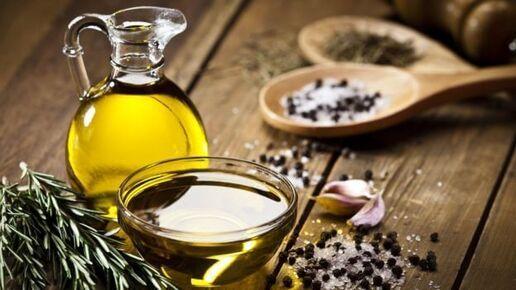 l'huile d'olive augmente la concentration
