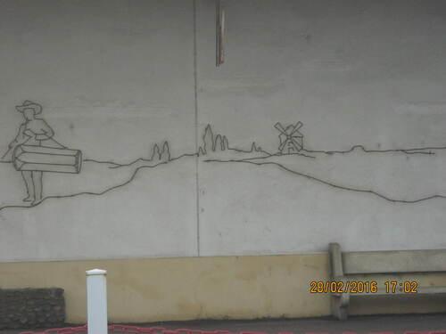 Art en gare d'ARLES