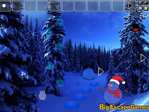 Jouer à Big Snowman land escape