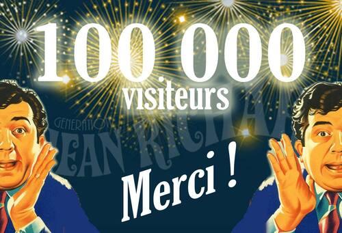 23 septembre 2016 - 19 juin 2018 : 100000 visites du blog !