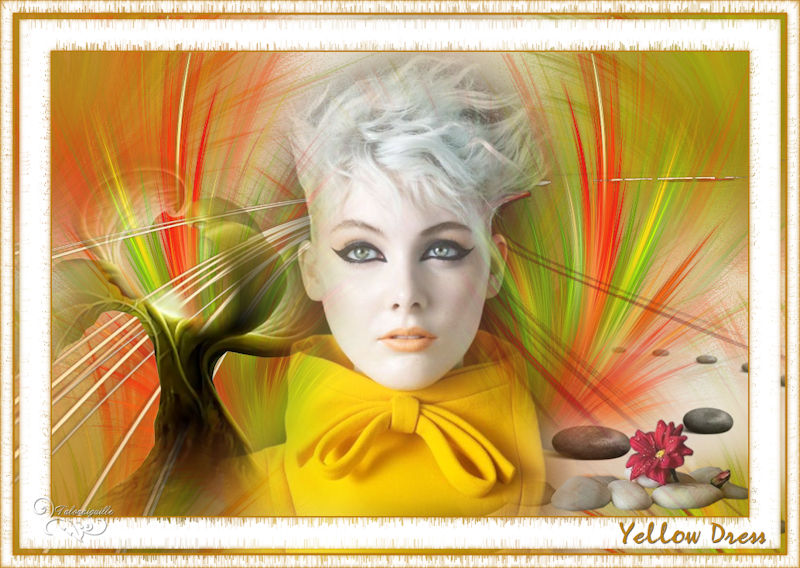 *** Yellow Dress ***