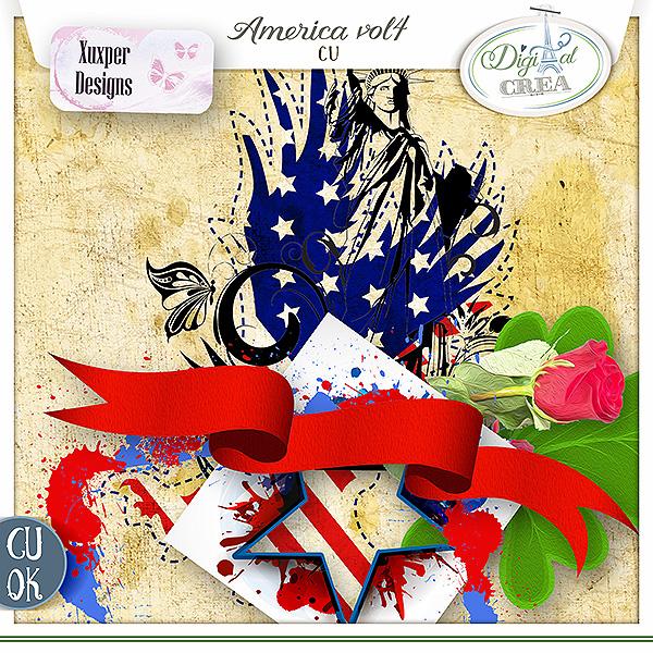 America Cu vol 4 de Xuxper Designs