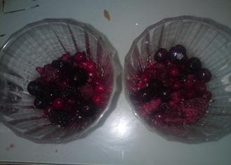 Tiramistu aux fruits rouges