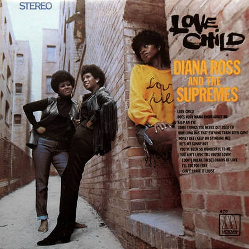 "Diana Ross & The Supremes : Album "" Love Child "" Motown ‎Records MS 670 [ US ]"