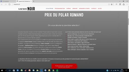 Prix du Polar Romand!
