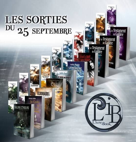 Sorties du 25 Septembre - L'Ivre-book