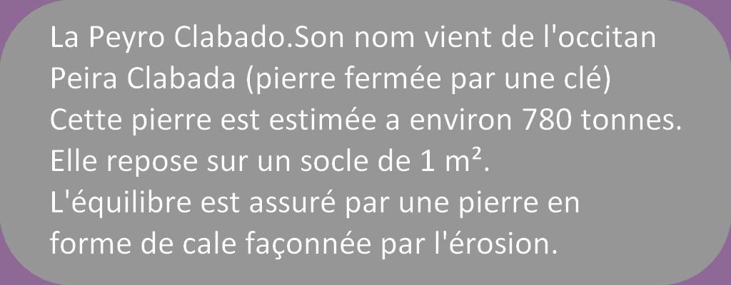 MASSIF DU SIDOBRE 1° PARIE