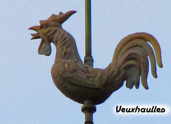 Les coqs de clochers du canton de Montigny sur Aube (3)